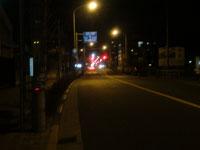 帰宅途中と除夜の鐘