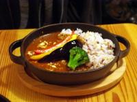 知床鶏の薫製ダッチカレー