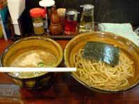 えん寺の肉入りつけ麺