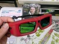 シャッター式の3D眼鏡