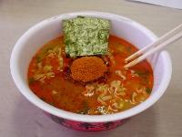 井の庄コラボレーションカップ麺辛辛魚の中身