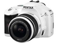 PENTAX k-m whiteモデル