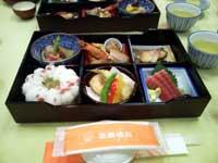 歌舞伎座内でお弁当