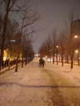 雪のソウル
