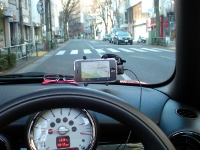 Luxa2 Car Mount H5+iPhone3GSで全力案内ナビ