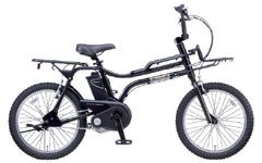 電動アシスト自転車EZの雄姿