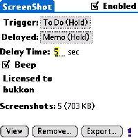 ScreenShotスクリーンショット