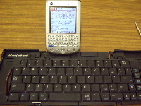 TungstenCとportable keyboard