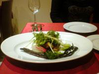 トレンタトレの料理