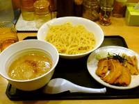 全卵麺+ジョージスープつけ麺