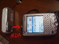 W31SからTungstenCへ画像送信