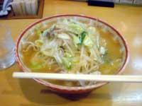よしきゅうの野菜炒めラーメン